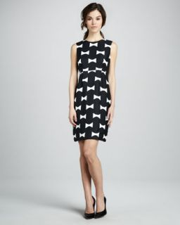 kate spade new york cora bow print dress