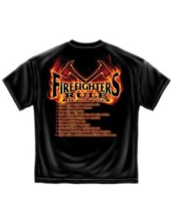 Firefighter T Shirt Firefighters Rule Because Tee Clothing