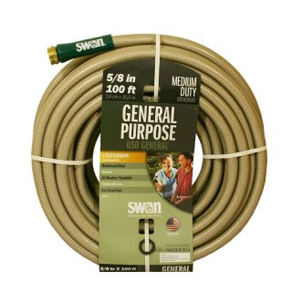 SWAN 5/8 in x 100 ft Medium Duty Garden Hose