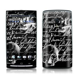 Liebesbrief Black Design Protective Skin Decal Sticker for Sony Ericsson Xperia X10 Cell Phone Cell Phones & Accessories