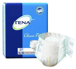 Tena Classic Plus Brief Beige/Extra Large/60 to 64 inches/Case of 60 Health & Personal Care