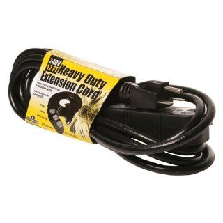 Hydrofarm BACDE24012 Extension Cord, 240v 12 Feet  Patio, Lawn & Garden