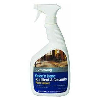 Armstrong Once 'n Done Resilient & Ceramic Floor Cleaner 32 oz. Spray   Armstrong Once And Done Floor Cleaner