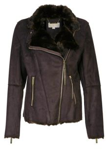 MICHAEL Michael Kors   Faux leather jacket   brown