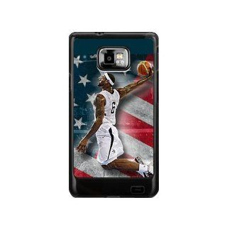Great Moment NBA Lebron James Samsung Galaxy S2 Case NBA Star Samsung Galaxy S2 I9100 Cases Cover(DOESN'T FIT T MOBILE AND SPRINT VERSIONS) Cell Phones & Accessories
