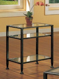 Southern Enterprises (SEI) CK8772   Metal End Table