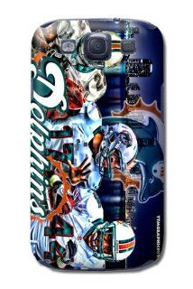 NFL Miami Dolphins Digital Design Samsung Galaxy S3/samsung 9300/i9300 Case Cell Phones & Accessories