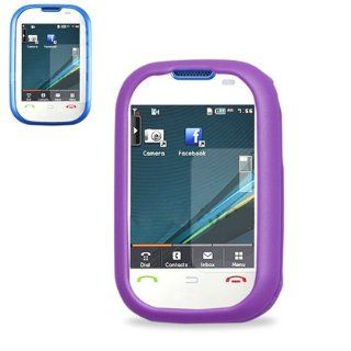 Fashionable Perfect Fit Hard Protector Skin Cover Cell Phone Case for Pantech Pursuit P9020 AT&T   PURPLE Cell Phones & Accessories