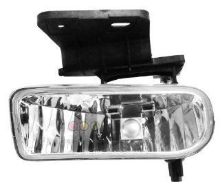 00 05 CHEVY CHEVROLET SUBURBAN FOG LIGHT LH (DRIVER SIDE) SUV, EXCEPT Z71 (2000 00 2001 01 2002 02 2003 03 2004 04 2005 05) 19 5318 01 15187249 Automotive