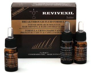 Cosmofarma Revivexil Breakthrough Scalp and Hair Therapy Fluid Formula, 3 Count  Hair And Scalp Treatments  Beauty