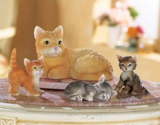 Cat Family Collectible Figurines By Collections Etc