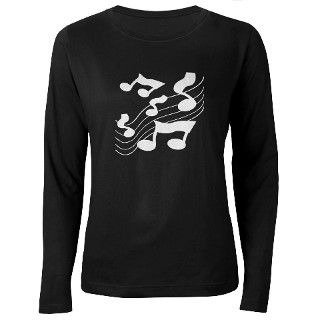 MUSIC NOTES T Shirt by mytreasurechest