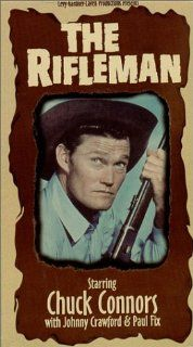 The Rifleman (Volumes 9 12) [VHS] Chuck Connors, Johnny Crawford, Paul Fix, Archie Butler, Joe Benson, Bill Quinn, Patricia Blair, Whitey Hughes, Joe Higgins, Joan Taylor, Harlan Warde, Hope Summers Movies & TV