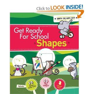 Get Ready For School Shapes and Colors Elizabeth Van Doren Books