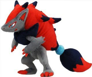 "Official Nintendo Takara Tomy Pokemon Plush Toy   12"" Zoroark (Japanese Import) Toys & Games"