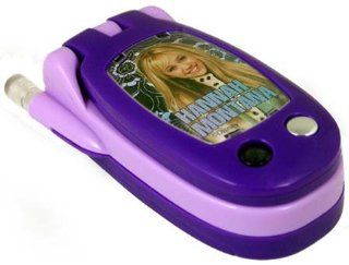 Hannah Montana Flip Cell Phone   Purple   Great Gift Giving Idea for Girls Toys & Games