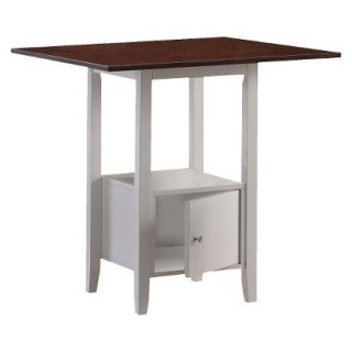 Dining Table Monarch Specialties Pub table   White