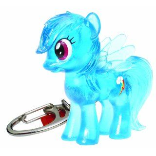 My Little Pony Friendship is Magic Crystal Pony Rainbow Dash Keychain Toys & Games