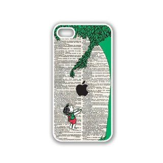 CellPowerCasesTM Giving Tree Illustration iPhone 5 Case White   Fits iPhone 5 Cell Phones & Accessories