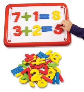 Foam Magnetic Letters and Numbers   Numbers and Math Symbols Toys & Games