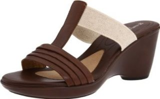 Naturalizer Women's Kora Slide Sandal,Coffee Bean,7.5 W US Shoes