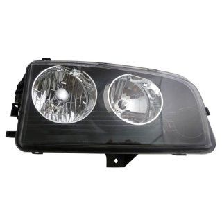 2007 2008 2009 2010 Dodge Charger (from 11 8 06 vehicle manufacture date) Headlight Headlamp Composite Halogen Front Head Light Lamp (with Black Housing, Non HID Type) Right Passenger Side (07 08 09 10) Automotive