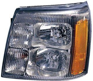DRIVER SIDE HEADLIGHT Cadillac Escalade HEAD LIGHT ASSEMBLY; LH; WITHOUT HID Automotive