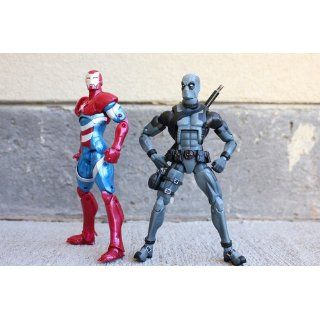 Marvel Iron Man Iron Patriot Figure 6 Inches Toys & Games