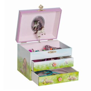 Mele & Co. Brandy Girls Musical Horse Jewelry Box