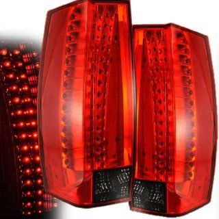 CHEVY TAHOE/ SUBURBAN/YUKON/YUKON XL 07 10 LED G5 TAIL LIGHT RED/SMOKE NEW Automotive