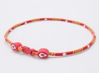NFL Kansas City Chiefs Titanium Sport Necklace  Sports Fan Necklaces  Sports & Outdoors