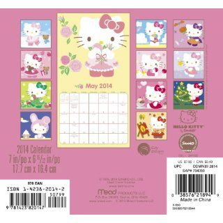 2014 Hello Kitty Mini Calendar Sanrio 9781423820147 Books