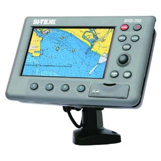 SI TEX SNS 700I Chartplotter w/Internal GPS Antenna Sports & Outdoors