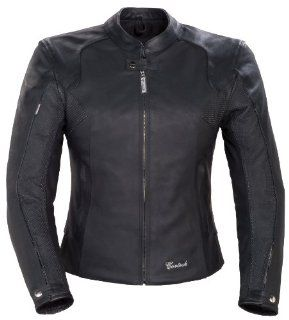 Cortech Women's LNX Leather Jacket   Small/Black Automotive