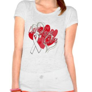 Scoliosis Love Hope Cure Tee Shirts
