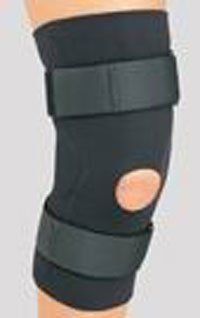 "79 82168 Support Knee 1/8"" w/Reinforced Pad Black Neoprene Hinged XL Part# 79 82168 by DJO, Inc Qty of 1 Unit Health & Personal Care"