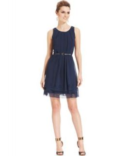 Jessica Simpson Shyla Strapless Ruched Dress   Juniors