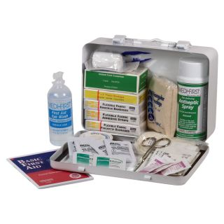 Medique Standard Vehicle First Aid Kit, Model# 818M1  First Aid Kits
