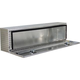Locking Aluminum Top-Mount Truck Box — 60in. x 12in. x 16in. Size, 1-Door  Top Mount Boxes
