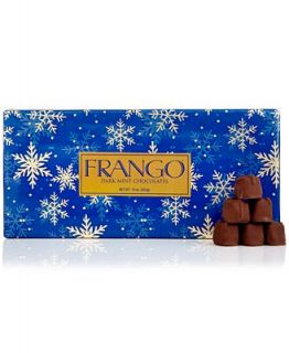 Frango Chocolates, 45 Pc. Holiday Wrapped Dark Mint Box of Chocolates   Holiday Lane