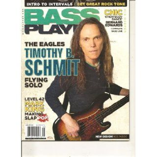 Bass Player Magazine (The Eagles Timothy B Schmit flying solo, August 2010) Various Books