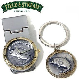WILDLIFE MONEY CLIP WATCH AND KEYCHAIN Field & Stream Sports & Outdoors