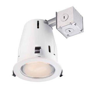 4 In. Recessed White Shower Kit Commercial Electric CER4G24R463WHP   Recessed Light Fixtures