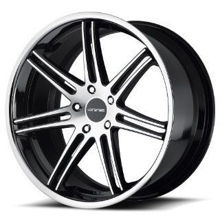 "Lorenzo WL198 Wheel with Gloss Black Machined (20x9""/5x130mm) Automotive"