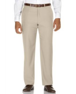 Kenneth Cole Reaction Dress Pants, Straight Fit Texture Stria Flat Front   Pants   Men