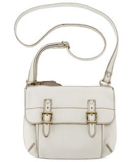 Fossil Tate Top Zip Leather Crossbody   Handbags & Accessories