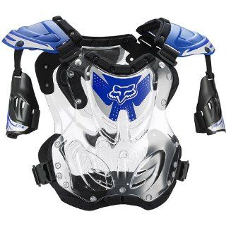 Fox Racing R3 Youth Boys Roost Deflector MotoX/Off Road/Dirt Bike Motorcycle Body Armor   Blue / Medium Automotive