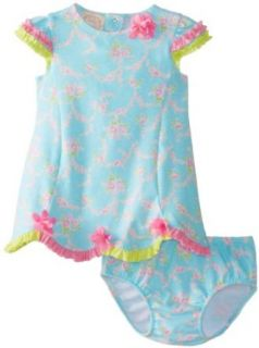 Biscotti Baby Girls Newborn Little Sprite Dress and Bloomer Clothing