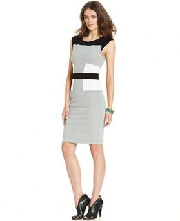 French Connection Colorblocked Sheath Dress   Dresses   Women