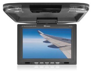 XO Vision GX2156G 12.2 Inch Wide Screen Overhead Monitor with Built in DVD Player and HDMI Input (Gray)  Vehicle Overhead Video